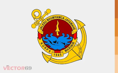 Korps Marinir Indonesia Logo - Download Vector File AI (Adobe Illustrator)