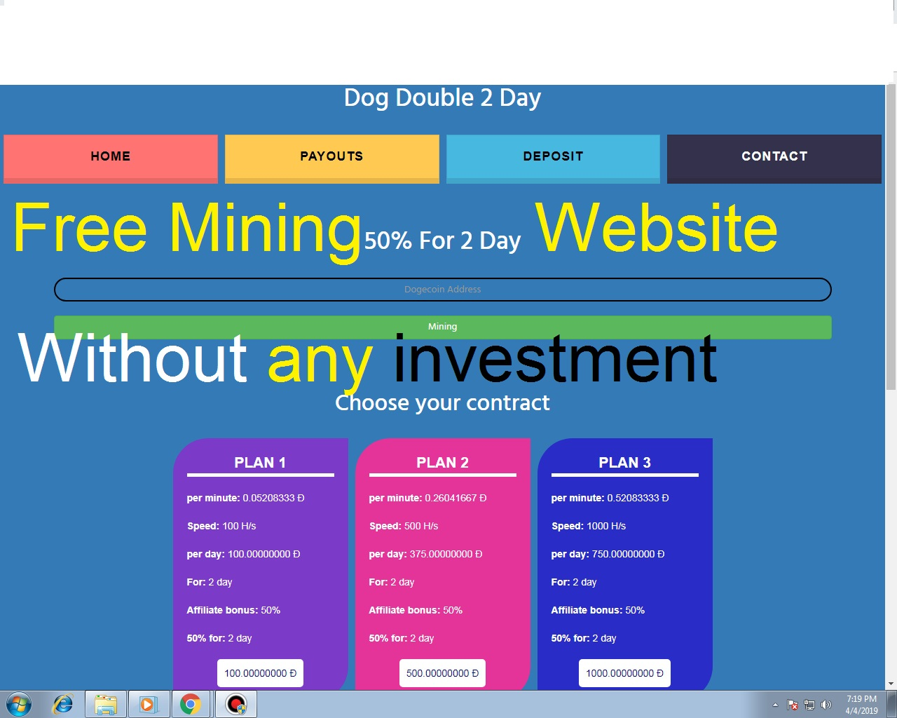 New Cloud Mining Free GH/S Best Mining Sites Free Bitcoin
