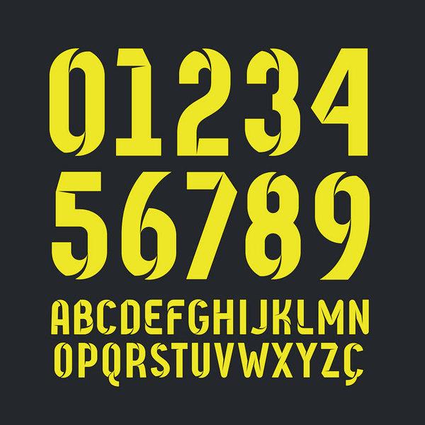 abd4bf14195b3 A pesar de que casi todos los equipos suelen cambiar las tipografias de sus  camisetas temporada tras temporada
