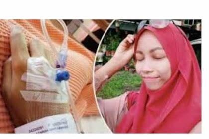 Demi Wajah Mempesona Sampai Ngirit Untuk Membeli Kosmetik Biar Tampil Cantik, Trumiah Ini Malah Jatuh Sakit