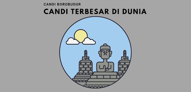 Candi Borobudur, Candi Buddha Terbesar di Dunia