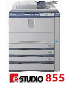 Máy photocopy toshiba e855