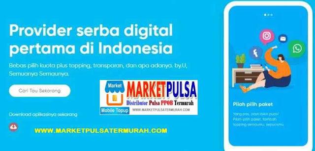 Daftar Harga Pulsa Telkomsel Byu Digital Market Pulsa