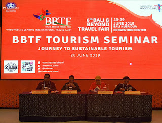 Bali & Beyond Travel Fair 2019 Journey to Sustainable Tourism - became the theme of BBTF 2019.