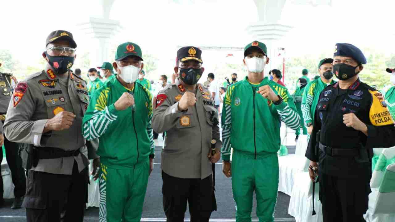 Mantaf..!! 7 Personil Poldasu ikut Memperkuat Provinsi Sumut Dalam PON XX Papua