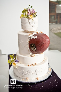 Angee S Eventions Football Themed Wedding Ideas