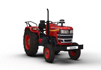 Mahindra YUVO Tractor front look hd image