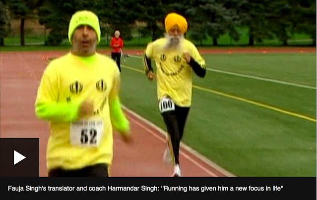 100 Year Old Man Marathoner