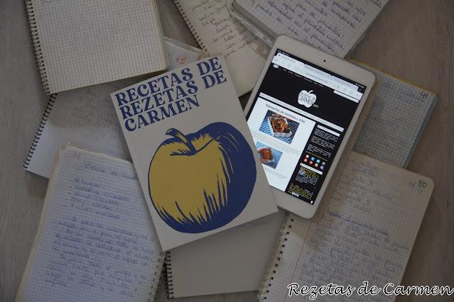 Las recetas de Rezetas de Carmen ¡Por fin también en libro!
