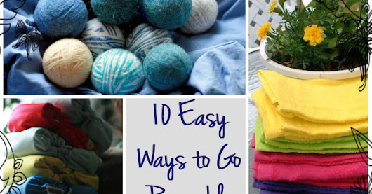 10 easy ways to go reusable at home