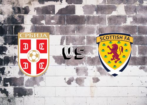 Serbia vs Escocia  Resumen