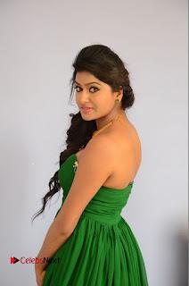 Actress Sai Akshatha Pictures at Shekaram Gari Abbayi First Look Launch  0058.JPG