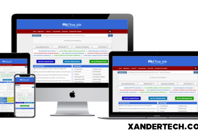 Download Sarkari Exam Responsive Blogger Template [FREE]