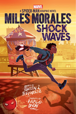 Marvel Scholastic Graphic Novels Miles Morales Shock Waves book cover
