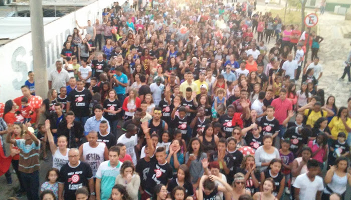 marcha pra Jesus de Campo Belo Veja as Fotos No Blog