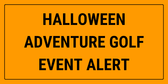 There will be Halloween Adventure Golf at The Cow Putt in Uckfield, East Sussex this October
