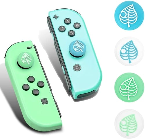 DLseego DLseego Cute Leaf Design Thumb Grip Caps