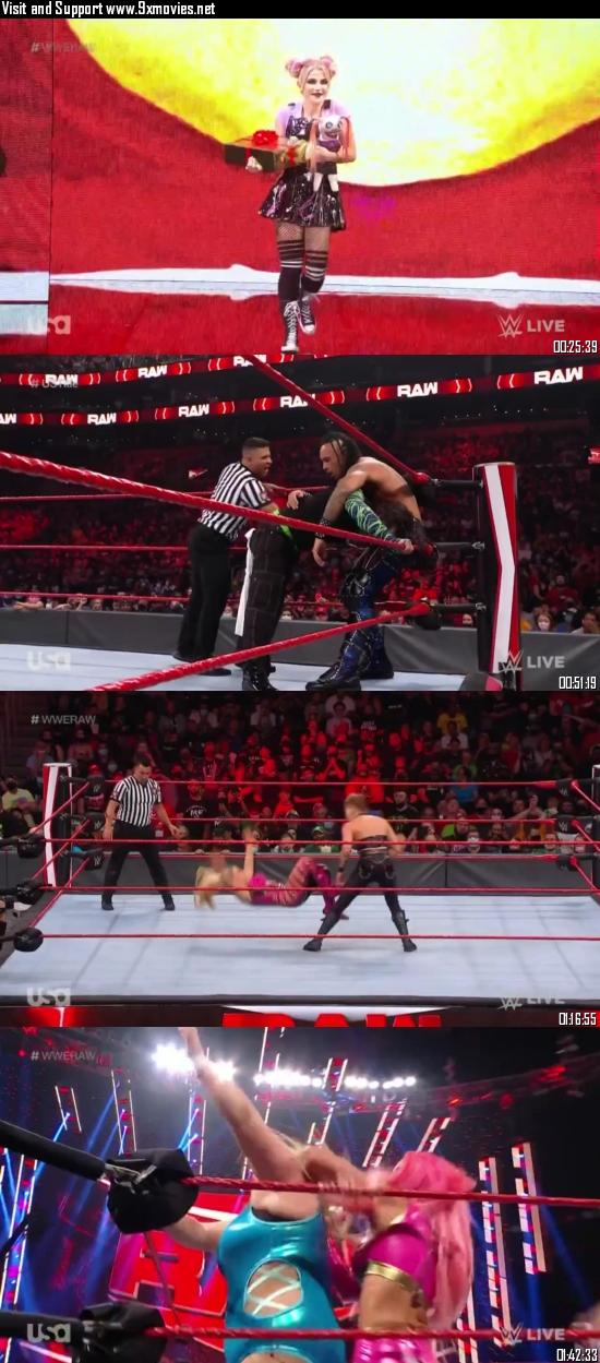 WWE Monday Night Raw 13 September 2021 HDTV 720p 480p 500MB
