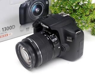 Canon EOS 1300D Wi-Fi DSLR Bekas