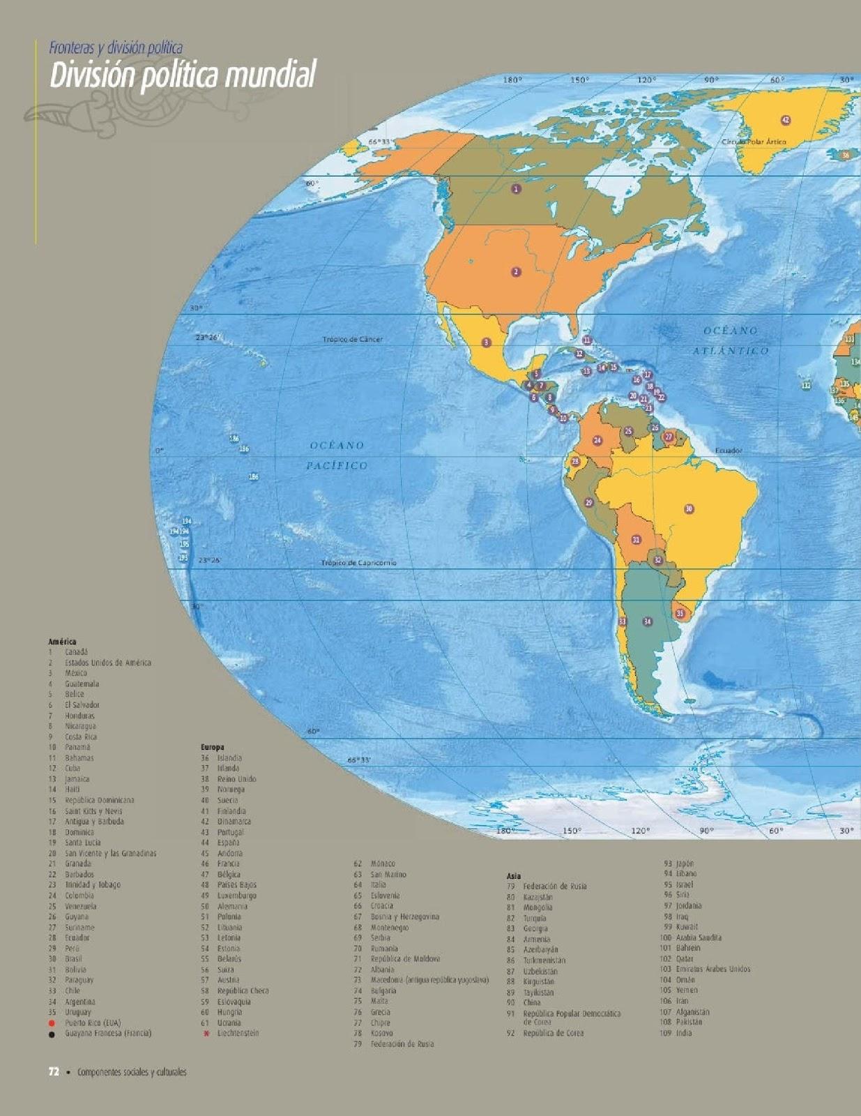 Atlas De Geografia De Mundo 5 Grado 2015 Pdf