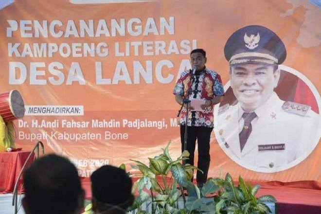 Hebat, Lanca Canangkan Kampung Literasi