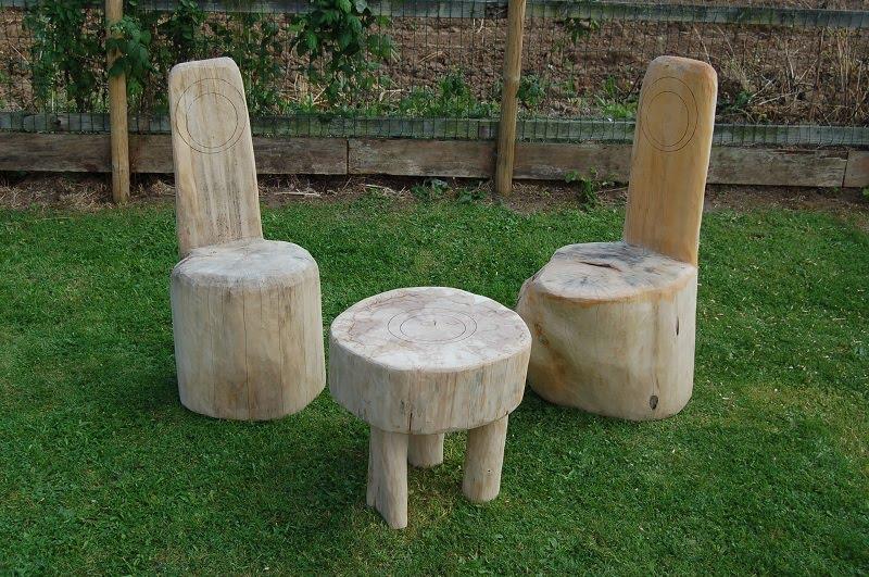 Johnny Taylor Garden Log Furniture