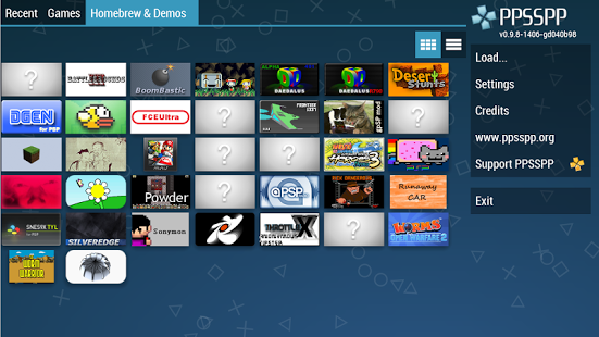 Download Emulator PPSSPP GOLD PSP Android Versi 1.3.0.1 Apk [Update]