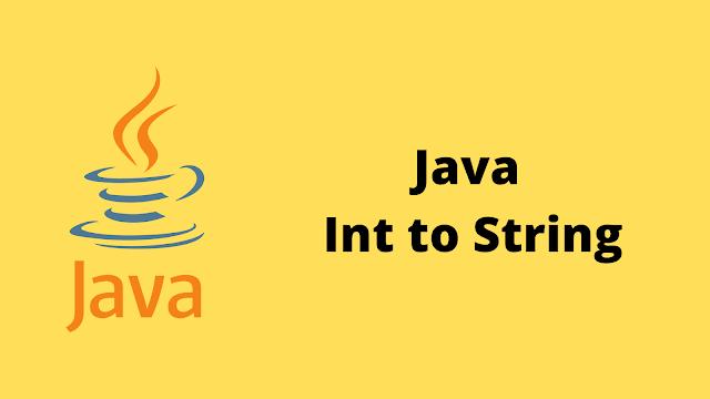 HackerRank Java Int to String problem solution