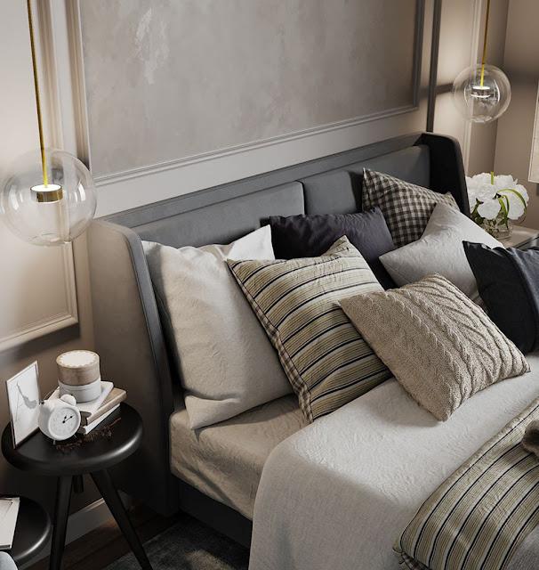 Thiết kế và thi công hoàn thiện nội thất căn hộ chung cư Sunshine Diamond River Quận 7 - Phòng Ngủ 1