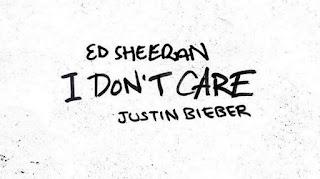 Lirik Lagu I Don't Care - Ed Sheeran & Justin Bieber + MP3