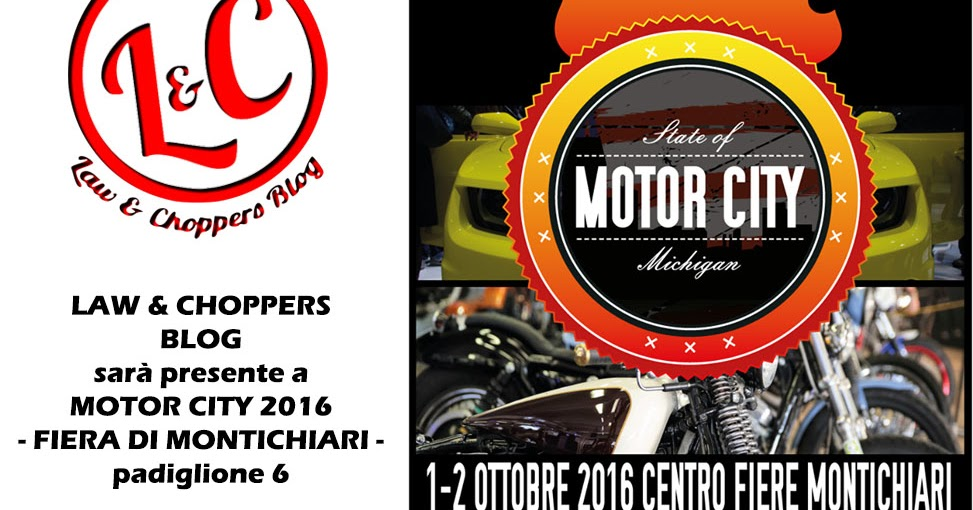 Law & Choppers @ Motor City 2016