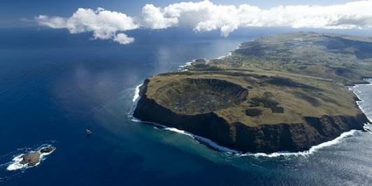 Rapa Nui Island, South Pacific.