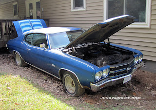 1970 Chevelle with SS emblems is the ultimate muscle car rescue.