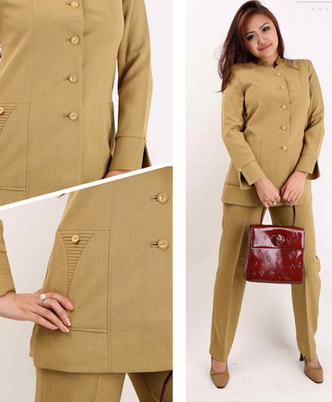 model baju dinas guru