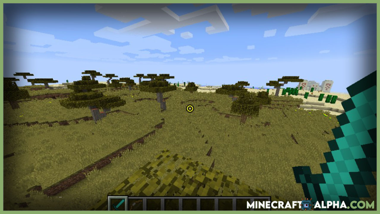 Minecraft Custom Crosshair Mod 1.17