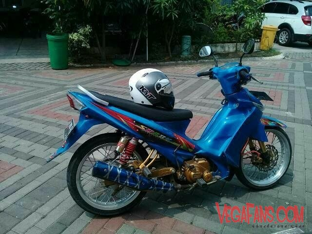 Vega ZR Modif Simple Biru