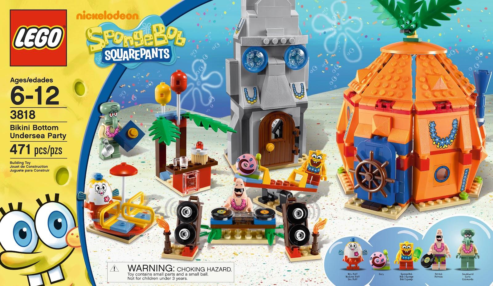 Summer Time Fun With Nickelodeon SpongeBob SquarePants GiveAway!