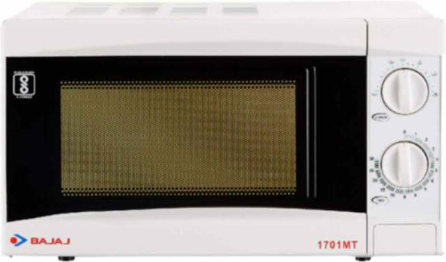 Bajaj 1701 MT solo 17L - best microwave oven