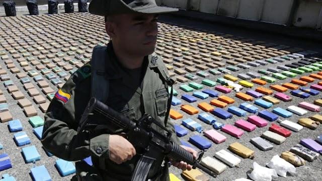 Κολομβία: Κατασχέθηκαν 116 τόνοι κοκαΐνης σε επιχειρήσεις διάρκειας 1,5 μήνα