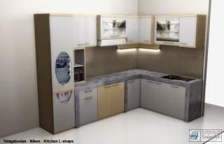 Kontraktor Interior  - Kitchen Set, Minibar, Divider