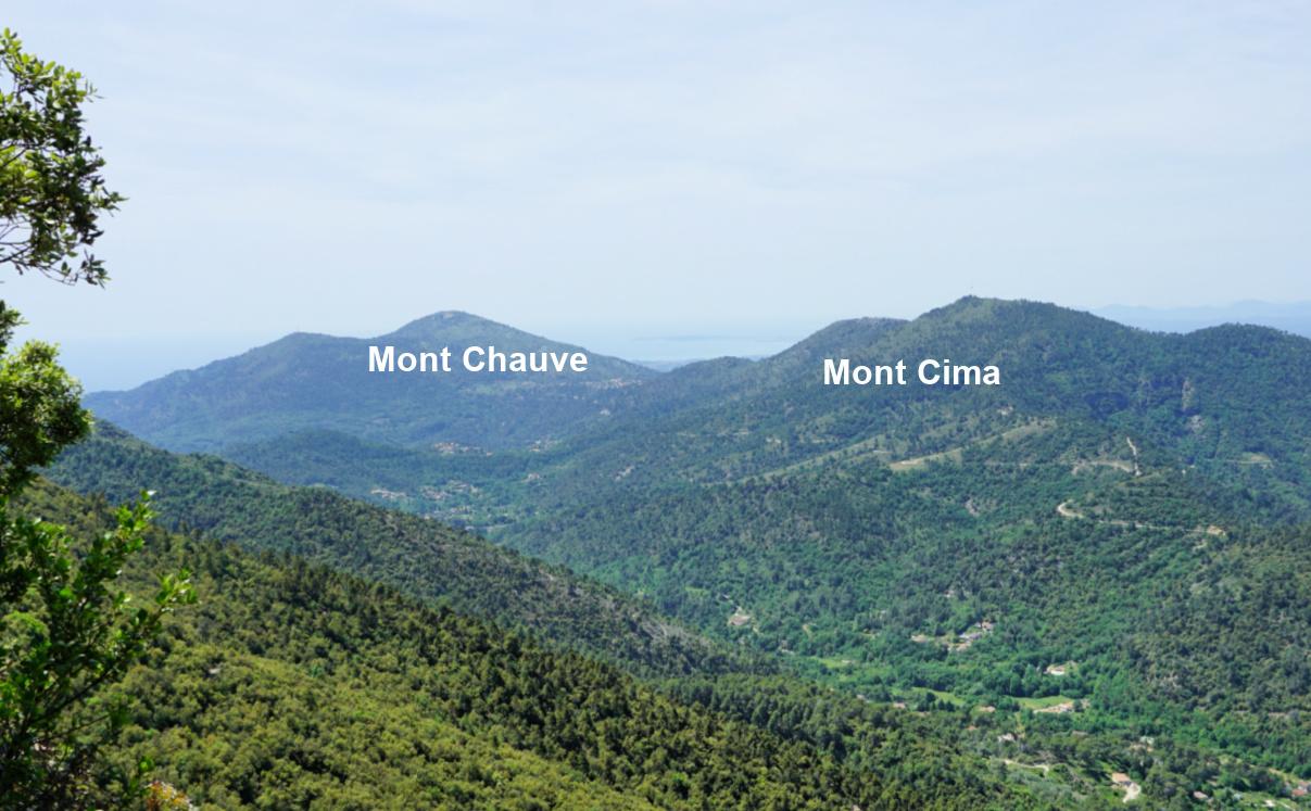Mont Chauve and Cima
