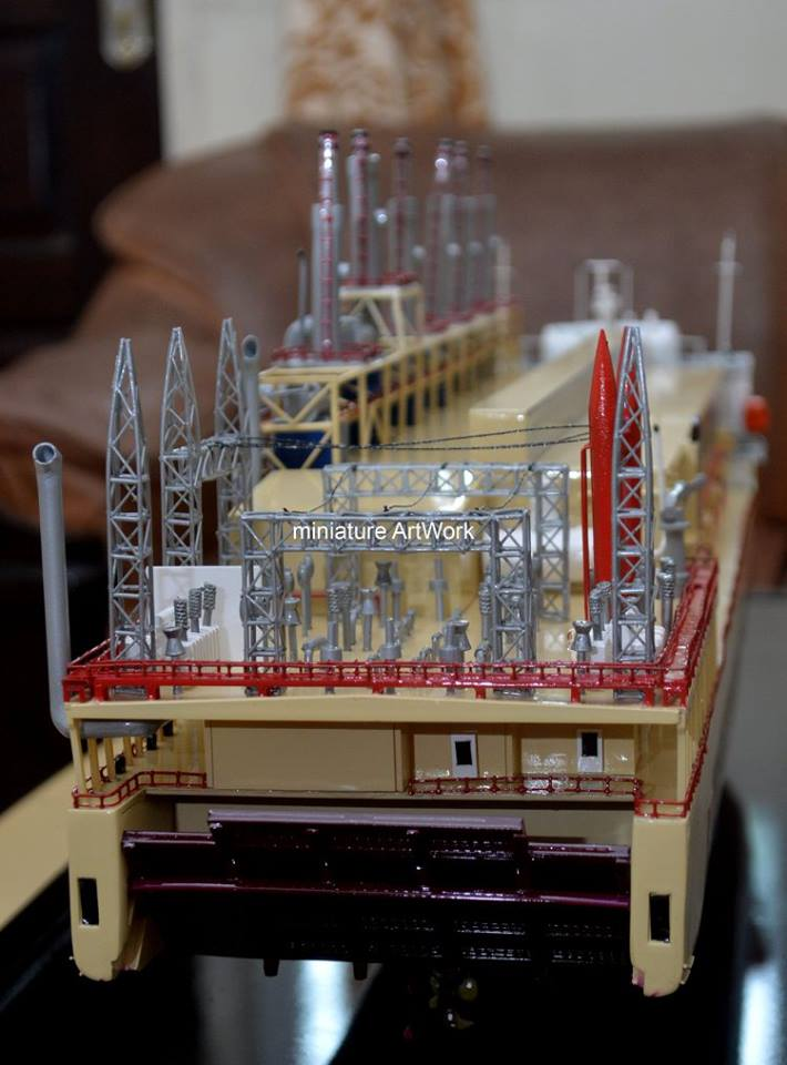 produsen pembuat pengrajin miniatur kapal karadeniz kar powership zeynep sultan power station vessel terpercaya