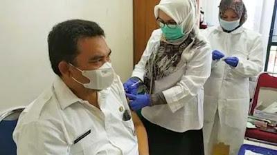Ini Cerita Tenaga Kesehatan Pemko Padang Setelah Divaksin Covid-19