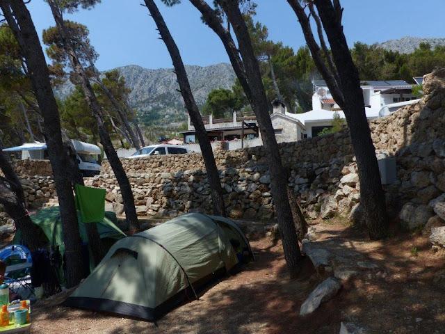 Kroatien Urlaub Camping Roadtrip Zelten Dalmatien Autokamp Sirena