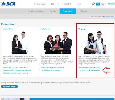 Cara Melamar Kerja di Bank BCA Lewat Online