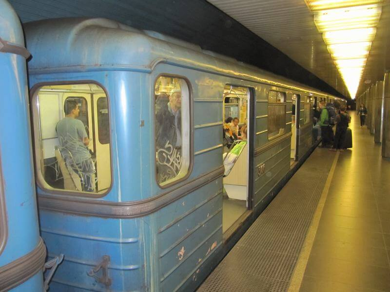 linea azul metro budapest
