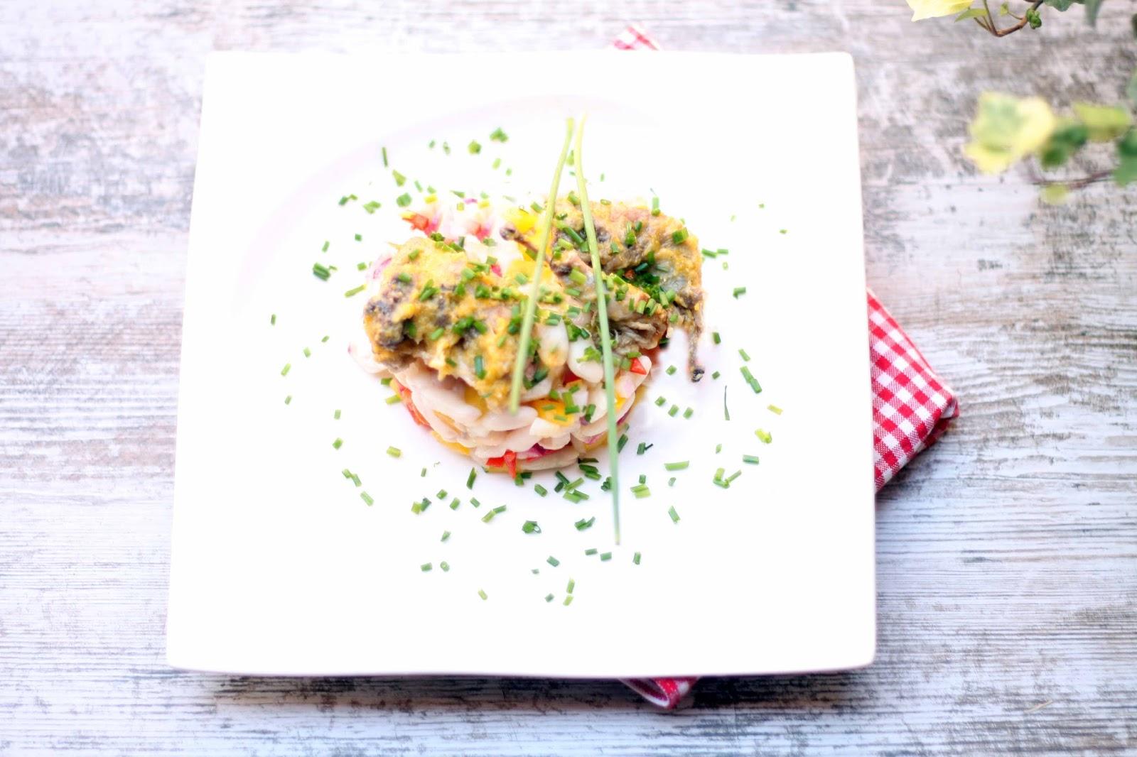 Igloo cooking ensalada de alubias blancas con codornices - Alubias con codornices ...