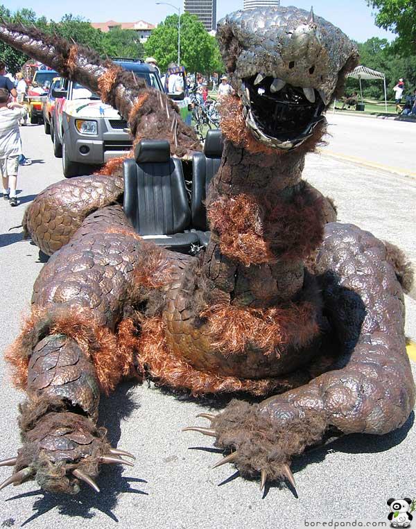 Ugly Monster Car