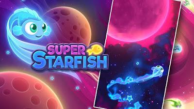 لعبة الإستكشاف والمغامرات Super Starfish مهكرة للأندرويد - تحميل مباشر