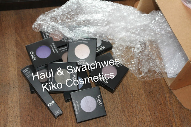Swatches Sombras Kiko Cosmetic